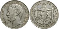 Vereinstaler 1867 Baden-Durlach, Grossherzogtum Friedrich, Grossherzog ... 70,00 EUR  zzgl. 5,00 EUR Versand