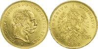 4 Florin (10 Franken) 1892 (NP) Österreich Franz Joseph I. vz  140,00 EUR kostenloser Versand