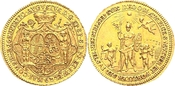 Dukat 1770 Speyer - Bistum Damian August von Limburg-Styrum (1770-1797) - Inthronisationsdukat f.st