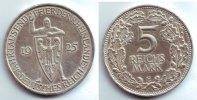 5 Mark 1925 E Weimarer Republik Silbermünze - Rheinlande vz  119,90 EUR  zzgl. 6,95 EUR Versand