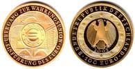 100 Euro 2002 F Deutschland 1/2 Unze Goldmünze - Währungsunion st mit B... 598,00 EUR