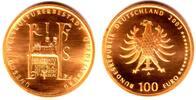100 Euro 2003 D Deutschland 1/2 Unze Goldmünze - Quedlinburg st mit Box... 579,00 EUR