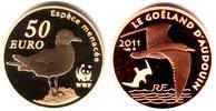 50 Euro 2011 Frankreich WF - Möwe PP mit Box + Echtheitszertifikat  469,00 EUR  zzgl. 6,95 EUR Versand
