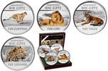 4x 30 Francs 2011 Kongo Farbiger Großkatzen - Satz (Gepard,Leopard,Tige... 199,90 EUR  zzgl. 6,95 EUR Versand