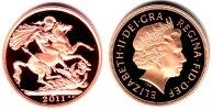 2 Pound 2011 Großbritannien Drachentöter - Queen Elisabeth II. PP  998,00 EUR