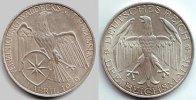 3 Mark 1929 A Weimarerer Republik Silbermünze - Waldeck vz  124,90 EUR  zzgl. 6,95 EUR Versand