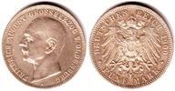 5 Mark 1900 A Oldenburg Grossherzog Friedrich August ss+  798,00 EUR  zzgl. 6,95 EUR Versand