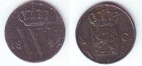 1/2 Cent 1847 Niederlande 1/2 Cent - Willem II. (1840 - 1849) vz-st  98,90 EUR  zzgl. 6,95 EUR Versand