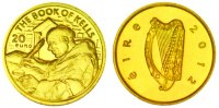20 Euro 2012 Irland Goldmünze - The Book of Kells - Klösterliche Kunst ... 64,90 EUR  zzgl. 6,95 EUR Versand