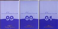 3x 3,88 Euro 1999-2001 Frankreich 3 Kursmünzen-Sätze im off. Münzkasset... 198,90 EUR