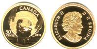 50 Cents 2012 Kanada 1/25 Unze Goldmünze - Cariboo Goldrausch PP mit Bo... 98,00 EUR  zzgl. 6,95 EUR Versand