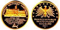 100 Euro 2011 D Deutschland 1/2 Unze Goldmünze - Wartburg st mit Box + ... 598,00 EUR