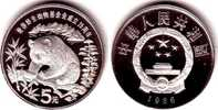 5 Yuan 1986 China 25 Jahre WWF - Panda PP  59,00 EUR  zzgl. 6,95 EUR Versand