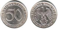 50 Pfennig 1938 E Drittes Reich Kursmünze vz  89,90 EUR  zzgl. 6,95 EUR Versand