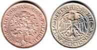 5 Mark 1928 G Weimar Kursmünze Eichbaum ss/vz  169,90 EUR  zzgl. 6,95 EUR Versand