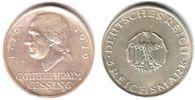 3 Mark 1929 F Weimar Lessing f.st  79,00 EUR  zzgl. 6,95 EUR Versand