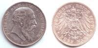 5 Mark 1904 G Baden Friedrich I. (1852 - 1907) ss-vz  69,00 EUR  zzgl. 6,95 EUR Versand