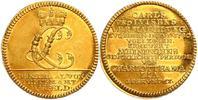 Dukat 1780 Sachsen-Meiningen Hochzeits-Dukat - Herzog Carl (1775-1782) ... 3498,00 EUR