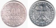 500 Mark 1923 J Weimar Kursmünze st  77,90 EUR  zzgl. 6,95 EUR Versand