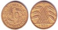 10 Pfennig 1931 G Weimar 10 Reichspfennig Kursmünze f.vz  279,90 EUR  zzgl. 6,95 EUR Versand