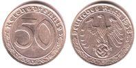 50 Pfennig 1938 E Drittes Reich 50 Reichspfennig vz/st  98,90 EUR  zzgl. 6,95 EUR Versand