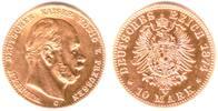 10 Mark 1874 C Preussen Kaiser Wilhelm I. ss  245,00 EUR