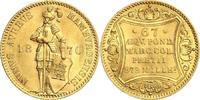 Dukat 1870 Hamburg-Stadt Ritter mit Stadtschild - Text in Kartusche fas... 898,00 EUR  zzgl. 6,95 EUR Versand