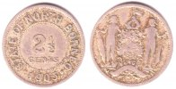 North Borneo 2 1/2 Cents British North Borneo - Sabah