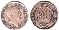 Sarawak 20 Cents Radscha Charles Vyner Brooke (1917-1946)