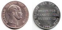 Taler 1861 A Brandenburg-Preussen Ausbeutevereinstaler - König Wilhelm ... 89,90 EUR  zzgl. 6,95 EUR Versand