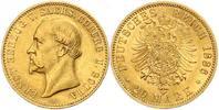 20 Mark 1886 A Kaiserreich Sachsen-Coburg-Gotha - Herzog Ernst f. vz  4398,00 EUR