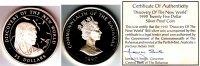 25 Dollar 1990 Bahamas 500 Jahre Entdeckung Amerikas - Arawak Indianer ... 129,90 EUR