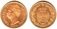 20 Lire 1882 R Italien König Umberto I. von Italien ( 1878-1900) f.st  298,90 EUR  zzgl. 6,95 EUR Versand