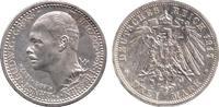 3 Mark 1917 Hessen 25 jähriges Regierungsjubiläum vz/st  4898,00 EUR kostenloser Versand