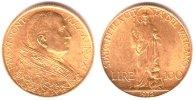 100 Lire 1932 Vatikan Papst Pius XI. (1923-1939) f.st  649,00 EUR  zzgl. 6,95 EUR Versand