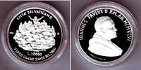 10.000 Lire 1996 Vatikan Silbermünze - Heiliges Jahr 2000 - Jesus bei d... 69,00 EUR  zzgl. 6,95 EUR Versand