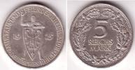 5 Mark 1925 A Weimarer Republik Schwurhand vz+  99,00 EUR  zzgl. 6,95 EUR Versand