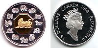 15 Dollar 1998 Kanada Chin. Tierkreiszeichen - Jahr des Tigers PP mit B... 69,00 EUR