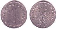 1 Pfennig 1945 E Drittes Reich Kursmünze f.st  159,90 EUR