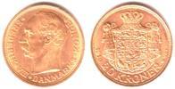 20 Kronen 1910 Dänemark Köng Frederik VIII.von Dänemark (1906-1912) vzK... 369,90 EUR  zzgl. 6,95 EUR Versand