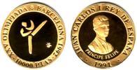 10.000 Pesetas 1990 Spanien Olympiade 1992 - Taekwondo PP  249,90 EUR  zzgl. 6,95 EUR Versand