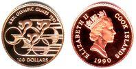100 Dollar 1990 Cook Inseln Olympiade 1992 - Radrennen PP  139,90 EUR  zzgl. 6,95 EUR Versand
