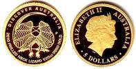 5 Dollar 2010 Australien Goldmünze - Kragenechse PP mit Box + Zertifikat  89,00 EUR  zzgl. 6,95 EUR Versand