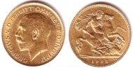 1/2 Sovereign 1925 SA Südafrika 1/2 Sovereign Goldmünze - König Georg V... 189,90 EUR  zzgl. 6,95 EUR Versand
