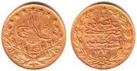 100 Piaster 1876/ AH 1293 Türkei Sultan Abdul Hamid II.(1876-1909) vz  349,00 EUR  zzgl. 6,95 EUR Versand