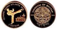 5 Sertrum 1994 Bhutan Olympiade Atlanta 1996 - Taekwondokämpfer PP mit ... 181,90 EUR  zzgl. 6,95 EUR Versand