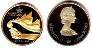 100 Dollar 1987 Kanada Olympische Winterspiele Calgary - Olympische Fac... 349,00 EUR  zzgl. 6,95 EUR Versand