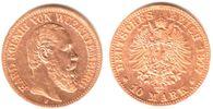 10 Mark 1877 F Württemberg König Karl von Württemberg (1864-1891) ss+  269,90 EUR  zzgl. 6,95 EUR Versand