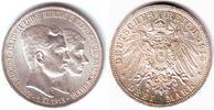 3 Mark 1915 A Braunschweig Regierungsantritt Ernst-August (1913-1918) o... 2998,00 EUR