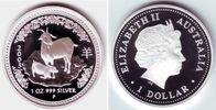 1 Dollar 2003 Australien Chin. Tierkreiszeichen - Jahr der Ziege PP in ... 149,90 EUR  zzgl. 6,95 EUR Versand